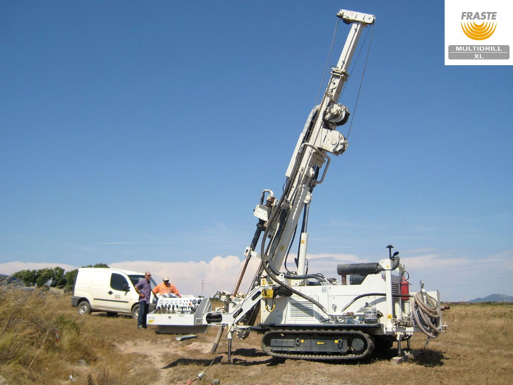 The Fraste Multidrill XL can be used for almost every