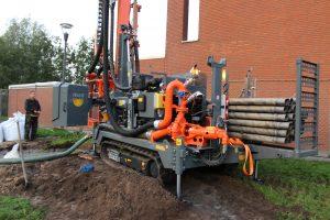 Pompen met hydraulische aandrijving